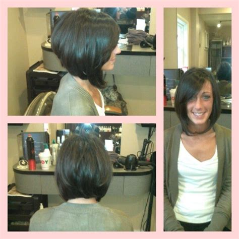 how to cut stack bob with side swept bangs 17 best images about hairstyles on pinterest tease hair