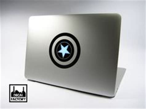 Sticker Decal Apple Mini Air Captain America Rina Shop decals on macbook decal macbook stickers and
