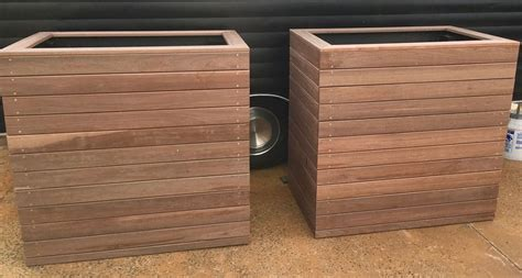 Wooden Planter Boxes Sydney by Planter Boxes Sydney Timber Garden Box 10