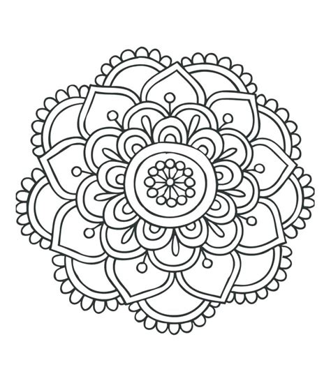 mandala color pages coloring pages delightful design