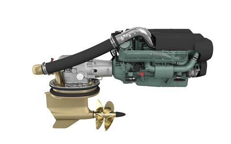 volvo penta debuts  diesel engine