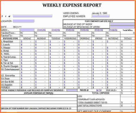 excel report template expense report large gif sales
