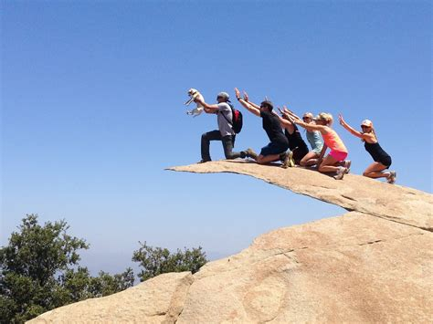 friendly hikes san diego potato chip rock hiking trail go hike it