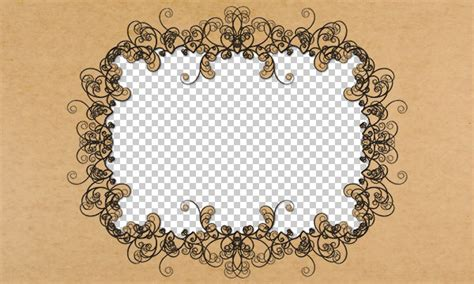 pattern frame photoshop cool image borders and frames using scripted patterns in