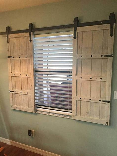 50 Best Shutters Images On Pinterest Windows Wood Barn Door Window Shutters