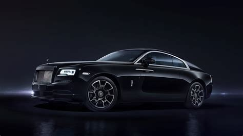 car wallpaper 8k wallpaper rolls royce wraith black badge 8k automotive