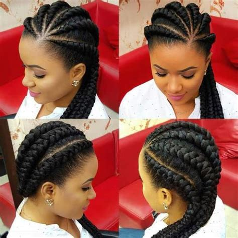 black hairstyles for miami ghana braids ghana braids with updo straight up braids