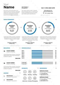 Infographic Resume Template Free Download 20 Premium Amp Free Infographic Resume Templates