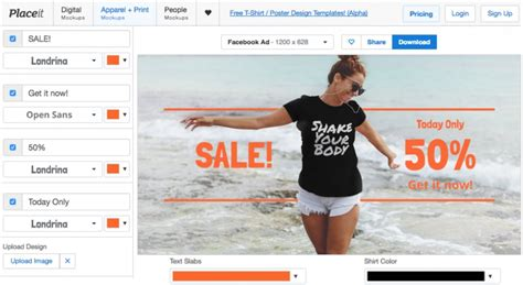 How To Create Teespring Facebook Ads Like A Professional Placeit T Shirt Ad Template