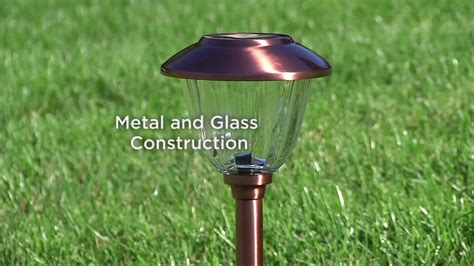 solar landscape lighting qvc energizer 10 solar landscape light set on qvc