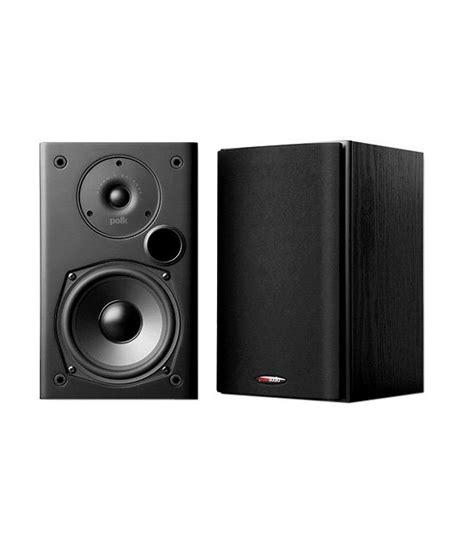 buy polk audio t15 bookshelf speaker pair black at