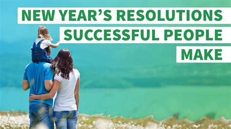 personal financial and social new year s resolutions for 6 new year s resolutions successful make every year