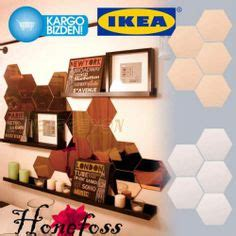 Ikea Parca Black mirrors on honeycombs ikea and mirror