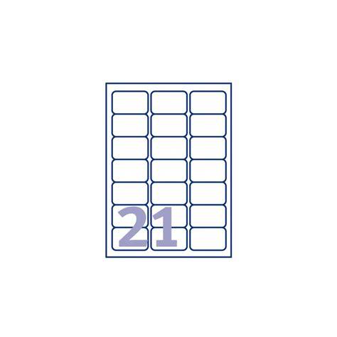 etiket avery l7160 100 63 5x38 1mm wit 2100stuks