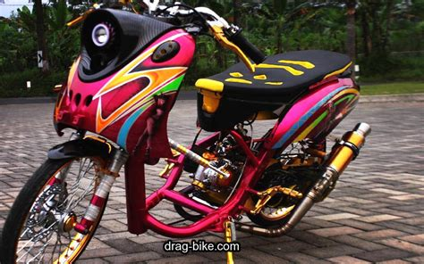Motor Gambar by Gambar Motor Drag Mio Fino Automotivegarage Org