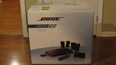 new bose lifestyle v25 5 1 channel home theater system ebay