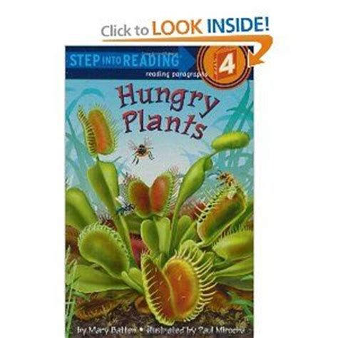 Hungry Plants Fun Book On Carnivorous Plants Venus Fly