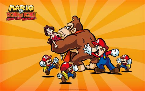 nintendo images mario vs donkey kong mini land mayhem