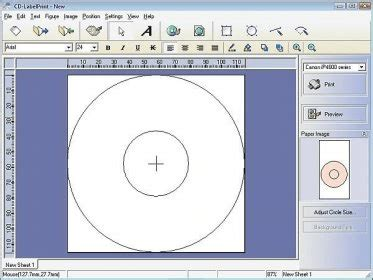printable cd label software cd labelprint download various functions allow you to
