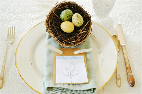 baby shower place settings baby shower at the picket fence