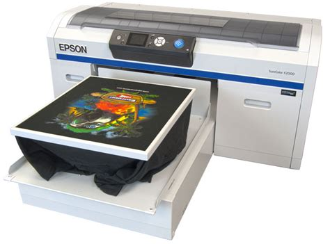 Printer Epson Surecolor Dtg F2000 epson f2000 veloci jet xl fast t jet direct to garment printers equipment zone
