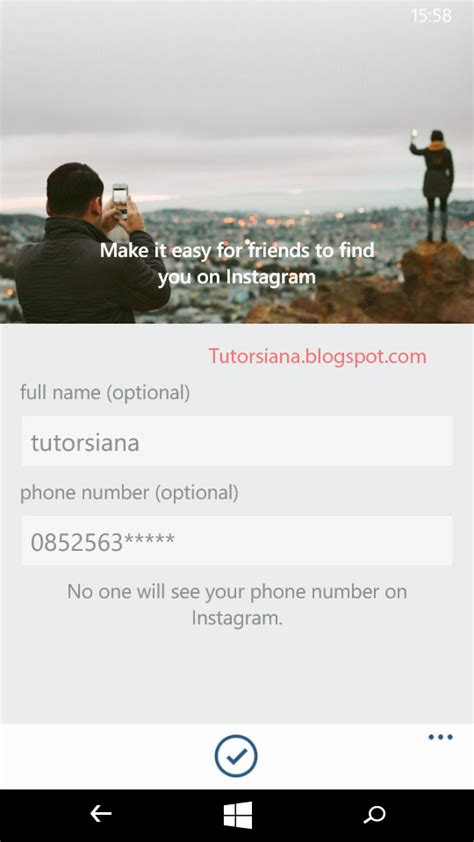 cara membuat instagram di windows phone cara membuat akun instagram di windows phone tutorsiana