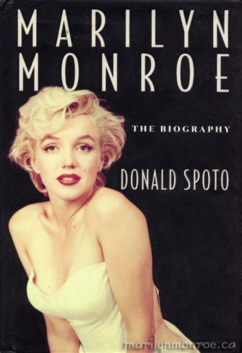Marilyn Monroe Biography Book List | marilyn monroe by donald spoto
