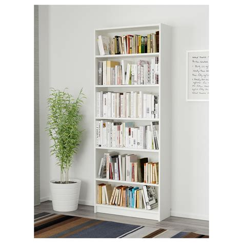 idea bookshelves billy bookcase white 80x28x202 cm ikea