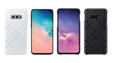 Accessories With Samsung Galaxy S10 by Samsung Galaxy S10 Series Official Cases Leak Details Igyaan Network