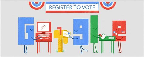doodle to vote the really really wants you to register to vote