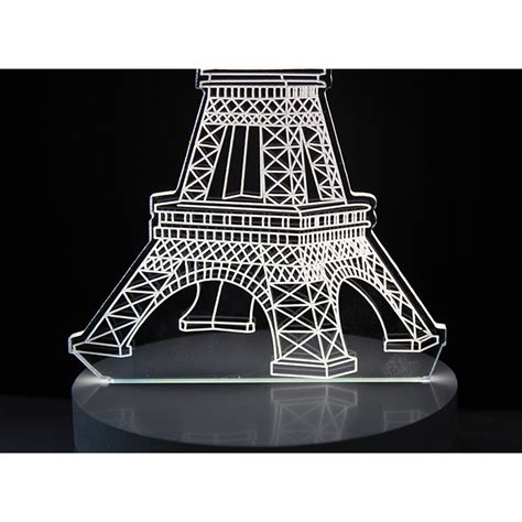 Lu 3d Led Transparan Desain Eiffel Tower Lu 3d Led Transparan Desain Eiffel Tower White Jakartanotebook