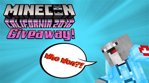 Free Minecon Cape Giveaway - 2016 minecon cape giveaway results youtube