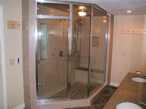 Large Shower by What Do You Want In A Bathroom Construction Inc