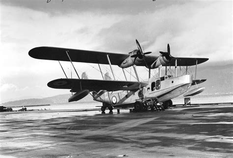 flying boat mount flying boat stationed at jericho city of vancouver archives