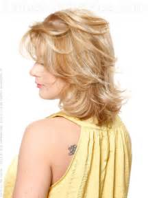 hair with shag back view 30 seriously chic medium shag hairstyles