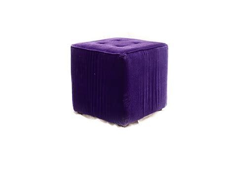 purple velvet ottoman thelounge velvet purple ottoman