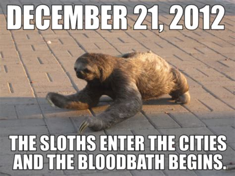 The Sloth Meme - image 516342 sloths know your meme