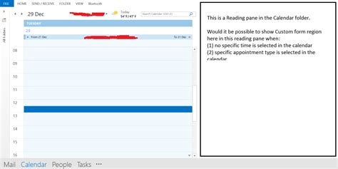 How To Add Calendar In Outlook Quot Form Region Quot For Calendar Views In Outlook Add In Stack