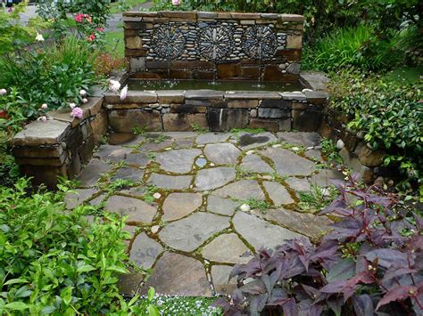 backyard landscape design pebble mosaic for the garden 20 beautiful garden design ideas bathroom design