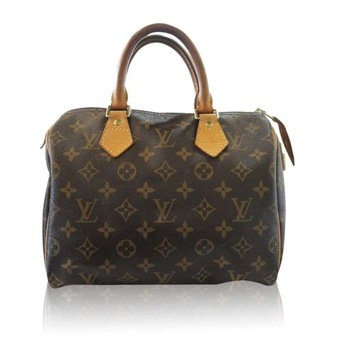 Are Louis Vuitton Bags Handmade - authentic louis vuitton monogram speedy 25 handbag