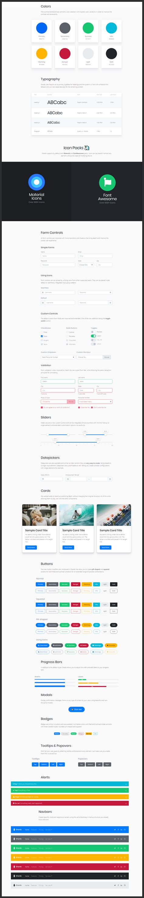 Bootstrap 4 Ui Design System Bypeople | bootstrap 4 ui design system bypeople