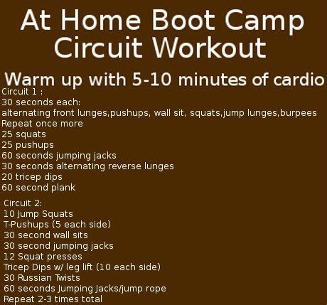 bootc workout fitness ideas for class