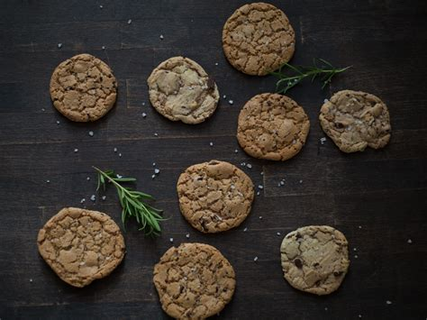 azie kitchen chocolate chips cookies rosemary chocolate chip cookies recipes kitchen stories