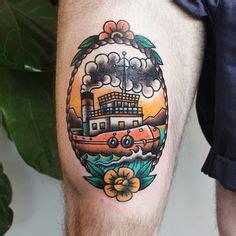 tugboat tattoo designs foot of a tugboat nautical tats