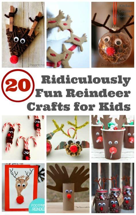 reindeer craft 20 ridiculously reindeer crafts for