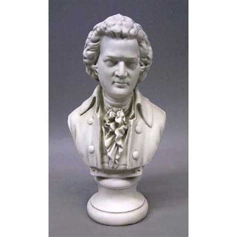 mozart bust composer bust small famous  composers