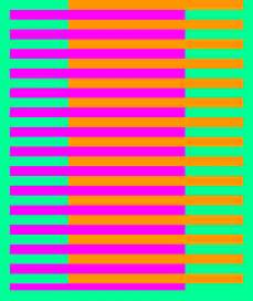 color optical illusions hue optical illusion