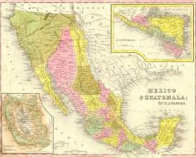 Mexico Old Map by Historical Maps