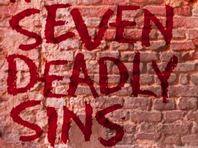 7 Common Sins by Be Wary Of The Seven Deadly Sins Of Selling Reach