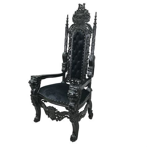 large throne chair large carved solid mahogany king throne chair antique